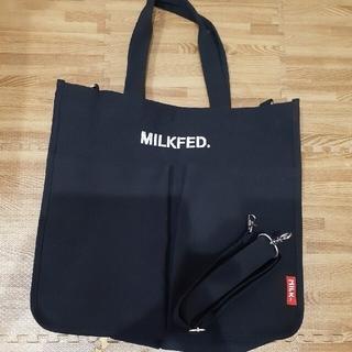 ミルクフェド(MILKFED.)のレディース トートバッグ ショルダーバッグ MILKFED milkfed (トートバッグ)