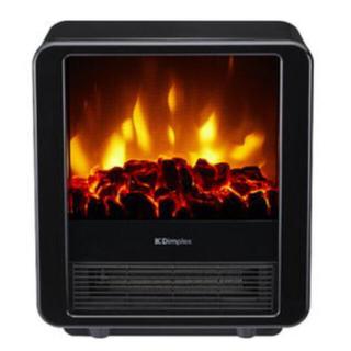 ディンプレックス 暖炉型電気ストーブMini CubeミニキューブMNC12BJ(電気ヒーター)