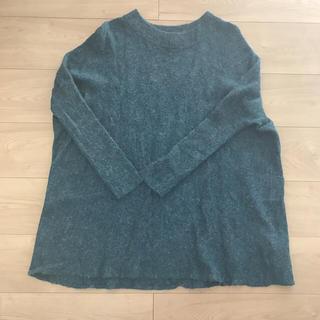 エイチアンドエム(H&M)のH&M 深グリーン セーター(ニット/セーター)