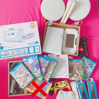 Wii U - wiiu/本体/ソフト/タタコン/マイク/マリオカート/amiibo/ジャンク