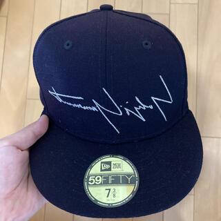 Yohji Yamamoto - ヨウジヤマモト ニューエラ コラボ ベースボールキャップ ネイビー