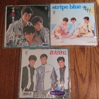 ショウネンタイ(少年隊)の少年隊レコード3枚まとめ売り(その他)