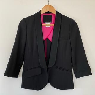 ダブルスタンダードクロージング(DOUBLE STANDARD CLOTHING)のダブルスタンダードクロージング ブラックジャケット(テーラードジャケット)