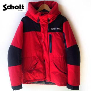 schott - Schott 2トーンシュノーケルダウンパーカー