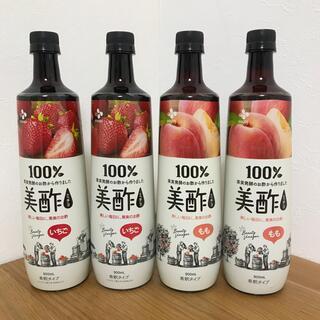 コストコ(コストコ)の013 美酢 ミチョ 4本セット いちご もも(ソフトドリンク)