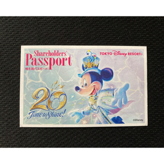 ディズニー(Disney)の使用済みディズニーチケット(印刷物)