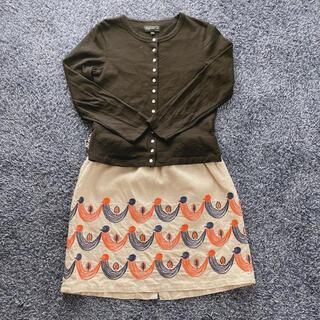 ミナペルホネン(mina perhonen)のミナペルホネン Twitter キャミソール スカート 130センチ(スカート)