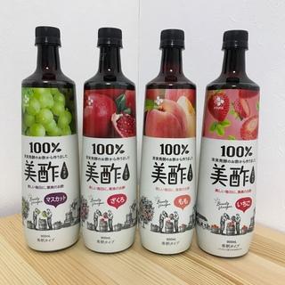 コストコ(コストコ)の015 美酢 ミチョ 4本セット ざくろ いちご(ソフトドリンク)