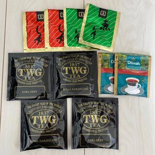 ルピシア(LUPICIA)のTWG ブラックティー 福寿園 高級茶 10パックセット(茶)
