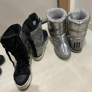 アディダス(adidas)の正規品 アディダス  オリジナル ムートンブーツ セット(ブーツ)