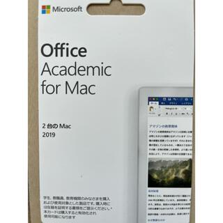 Microsoft - Office Academic for Mac 2019 永久版 1台分