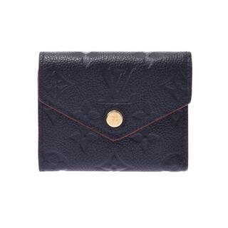 ルイヴィトン(LOUIS VUITTON)のルイヴィトン モノグラム アンプラント ポルトフォイユ ゾエ 三つ折り財布(財布)
