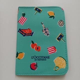 ロクシタン(L'OCCITANE)の【新品】ロクシタン パスポートケース ノベルティ(その他)