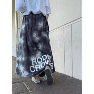 ロデオクラウンズワイドボウル(RODEO CROWNS WIDE BOWL)の【新品・未使用】RODEO CROWNS WIDE BOWL / ロゴスカート(ロングスカート)