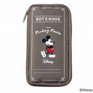 ミッキーマウス(ミッキーマウス)のSPRiNG付録【10月】SHIPS anyミッキーマウスノート型マルチポーチ(ファッション)