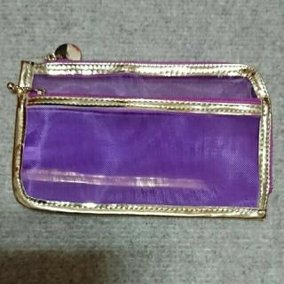 フェリシモ(FELISSIMO)のフェリシモ  シースルー長財布(ポーチ)