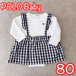 POLO RALPH LAUREN - POLO Baby / ギンガムチェックワンピース