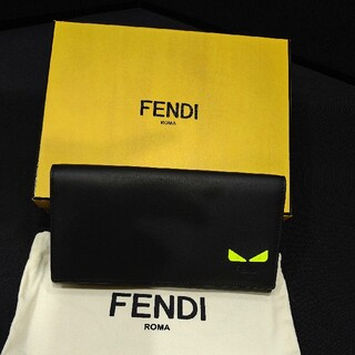 フェンディ(FENDI)のFENDI/フェンディモンスター長財布☆未使用☆極美品(長財布)