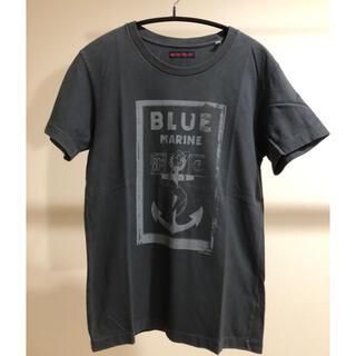 ハリウッドランチマーケット(HOLLYWOOD RANCH MARKET)のハリウッドランチマーケット BLUE BLUE  Tシャツ サイズ0(Tシャツ(半袖/袖なし))