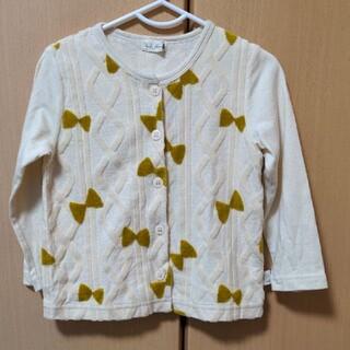 ニットプランナー(KP)の日本製 KP ニットプランナー カーディガン リボン サイズ95(Tシャツ/カットソー)
