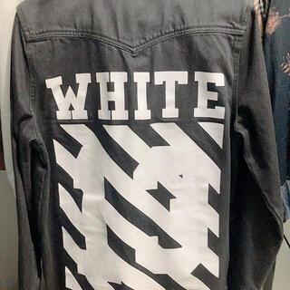 オフホワイト(OFF-WHITE)のoff-white デニムジャケット(Gジャン/デニムジャケット)