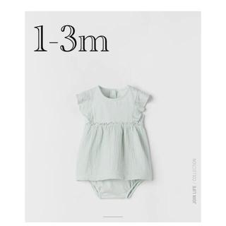 ザラキッズ(ZARA KIDS)のZara baby ワンピース 60cm(ワンピース)