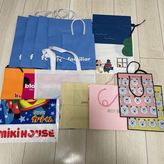 プティマイン(petit main)のショッパー ショップ袋 紙袋(ショップ袋)