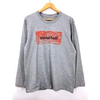 モンベル(mont bell)のmont bell(モンベル) プリント長袖Tシャツ メンズ トップス(Tシャツ/カットソー(七分/長袖))