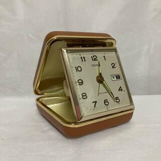 SEIKO - 美品 SEIKO 手巻きトラベルアラーム時計