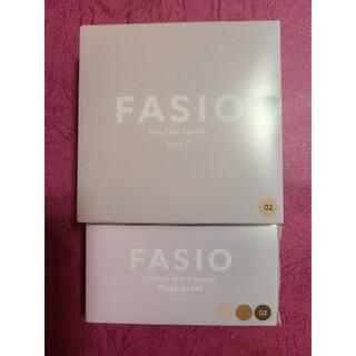 Fasio - ファシオ エアリースティパウダー&アイブロウセット 02