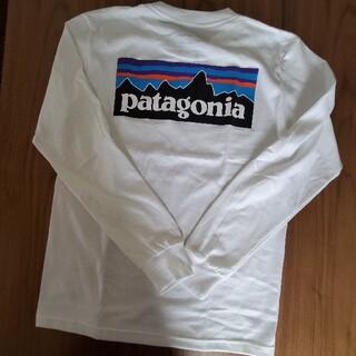 パタゴニア(patagonia)のパタゴニア ロンT S ホワイト(Tシャツ(長袖/七分))