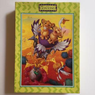ディズニー(Disney)の【中古品】ジグソーパズル ディズニー ライオンキング 500ピース(その他)