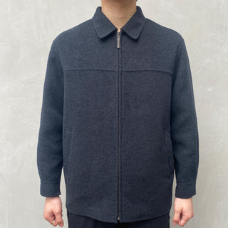 Saint Laurent - vintage ysl wool zip up jacket sullen