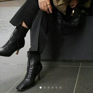 トゥデイフル(TODAYFUL)のETRE TOKYOエトレトウキョウ レースアップブーツ(ブーツ)