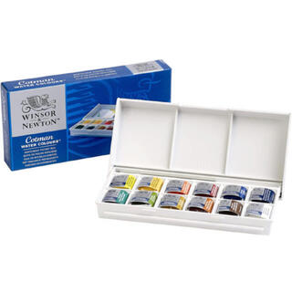 12色セット ウィンザー&ニュートン 水彩絵具