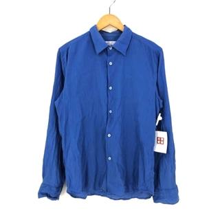 アニエスベー(agnes b.)のagnes b.(アニエスベー) フランス製 ワッシャー加工 L/Sシャツ(シャツ/ブラウス(長袖/七分))
