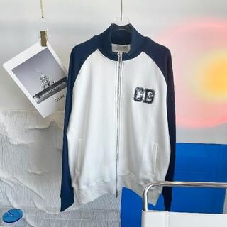 ディオール(Dior)の秋冬新作ジョイントリトルモンスター刺繡カラーマッチングジャケット(パーカー)