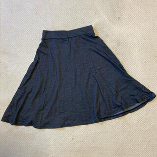 ローリーズファーム(LOWRYS FARM)の膝丈スカート ネイビー(ひざ丈スカート)