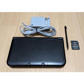 ニンテンドウ(任天堂)のNintendo 3DSLL 本体 ブラック +充電器(携帯用ゲーム機本体)