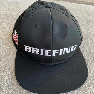 ブリーフィング(BRIEFING)のBRIEFING/ブリーフィング キャップ ブラック(ウエア)