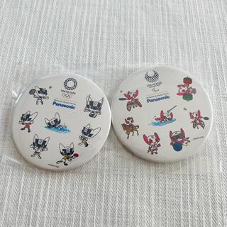 パナソニック(Panasonic)の【限定品】東京2020 オリンピックパラリンピック Panasonic 缶バッジ(バッジ/ピンバッジ)