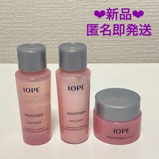 アイオペ(IOPE)のアイオペ(IOPE) モイストゼント ライアル3点セット 新品(化粧水/ローション)