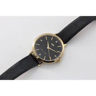 エテ(ete)のete エテ ボーイフレンドウォッチ 電池交換済 4Pダイヤ(U01270)(腕時計)