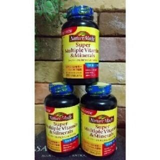 オオツカセイヤク(大塚製薬)のネイチャーメイド スーパーマルチビタミン&ミネラル ×3コセット(ビタミン)