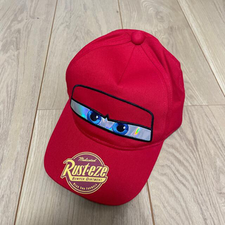 ベビードール(BABYDOLL)の美品 BABYDOLL カーズ マッククイーン 光るツイルキャップ (帽子)