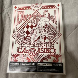ラルクアンシエル(L'Arc~en~Ciel)のL'Arc~en~Ciel LIVE 2015 L'ArCASINO(初回生産限(ミュージック)