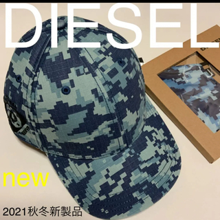 ディーゼル(DIESEL)の洗練されたデザイン DIESEL  C-RIPICA -B HAT  キャップ (キャップ)