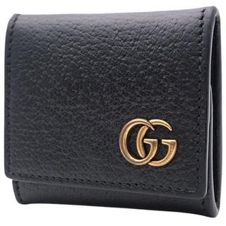 グッチ(Gucci)のグッチ コインケース コインパース カーフ ブラック黒 40802003847(コインケース/小銭入れ)