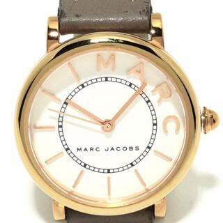マークジェイコブス(MARC JACOBS)のマークジェイコブス 腕時計 MJ1538 白(腕時計)