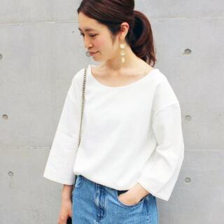 イエナ(IENA)のIENA コットンリングBIGTシャツ(Tシャツ(半袖/袖なし))